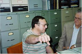 Ernest Hilgard avec un sujet en 1989
